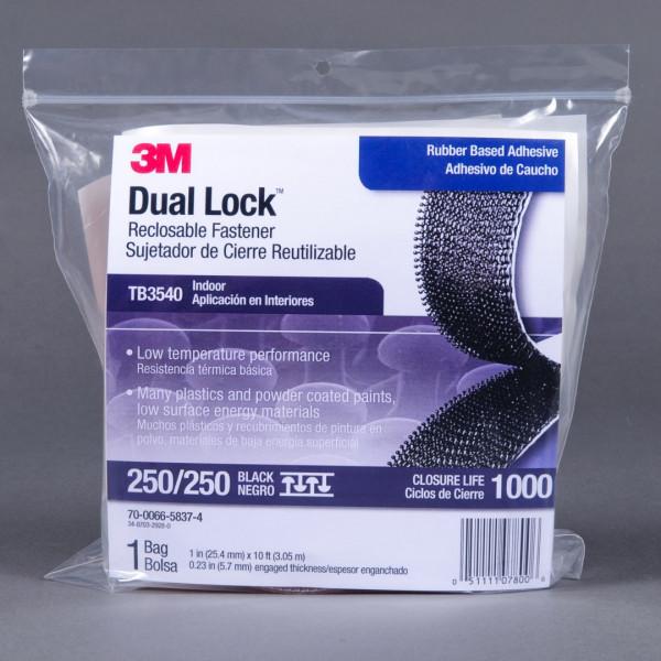 3M Dual Lock Trial Bag TB 3540, schwarz