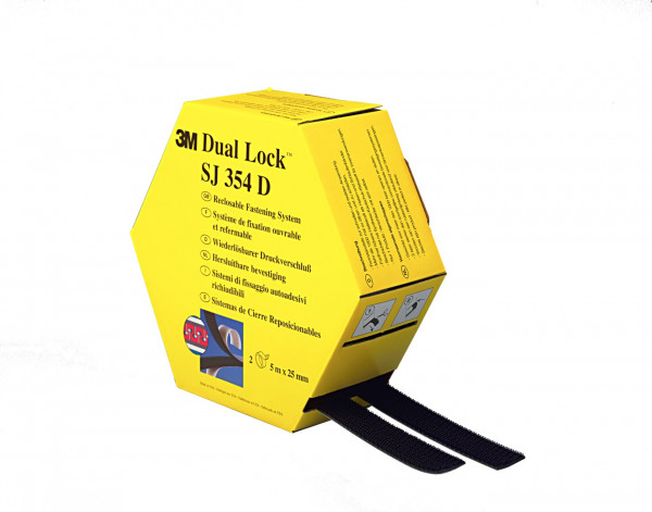3M Dual Lock SJ 354 D, 25,4 mm x 5 m