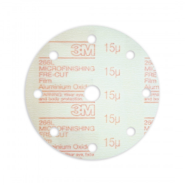 3M™ Hookit™ 266L Kletthaftende Microfinishing Film Scheibe