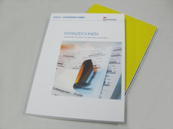 Laserprint-Folie Typ 3 selbstklebend,