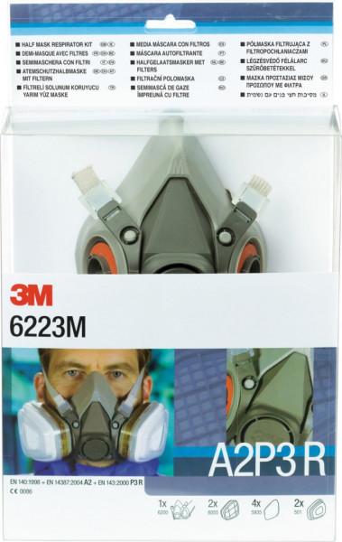 3M Atemschutzmasken-Set 6223 M eShop