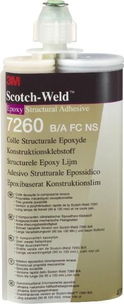 3M Scotch-Weld Klebstoff 7260 B/A FC-NS
