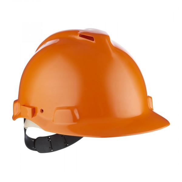 Schutzhelm G22 ABS orange mit Schweiß-