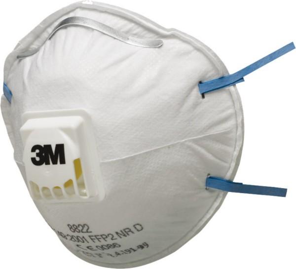 3M Atemschutzmaske 8822, FFP2 NR D