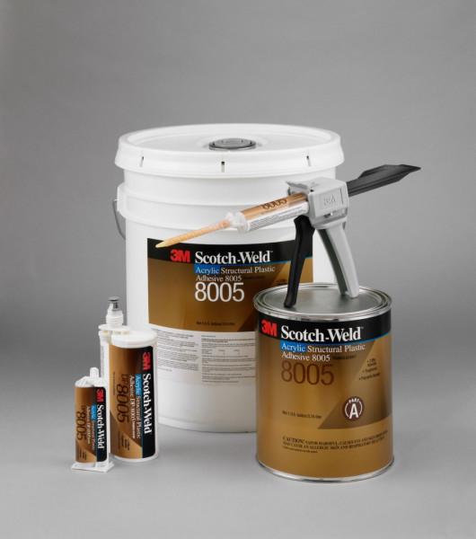 3M™ Scotch-Weld™ SW DP 8005 2K-Konstruktionsklebstoff auf Ac