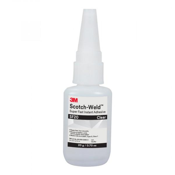 3M™ Scotch-Weld™ SW SF 20 Cyanacrylat-Klebstoff, Klar